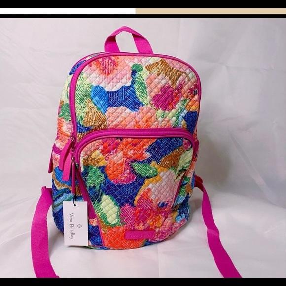 Vera Bradley Hadley Superbloom backpack! NWT!